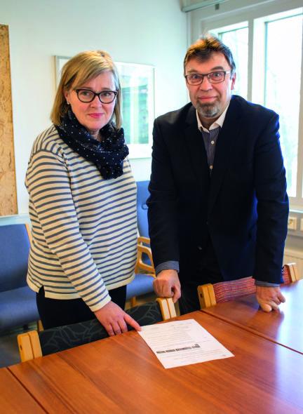 Sari Vehanen ja Tapio Pihlajamäki