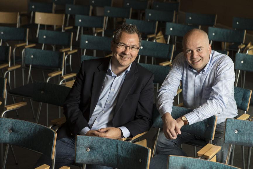 Jari Annala ja Mikael Federley