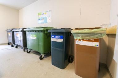 Taloyhtiön toimiva jätehuolto helpottaa arkea