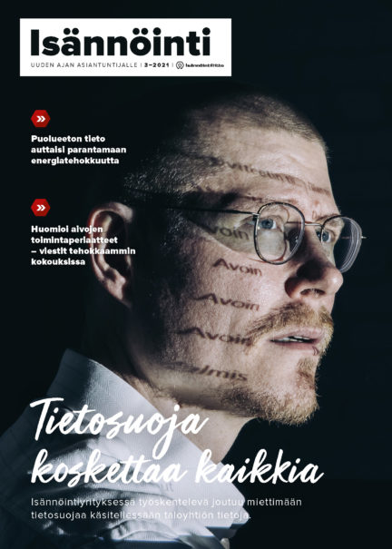 Isännöinti-lehti 3_2021 kansi. Kuva: Aleksi Poutanen
